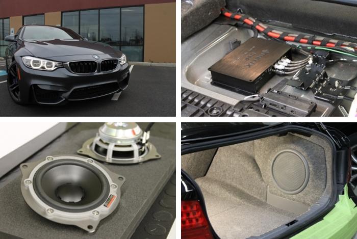 Custom BMW Sound Systems