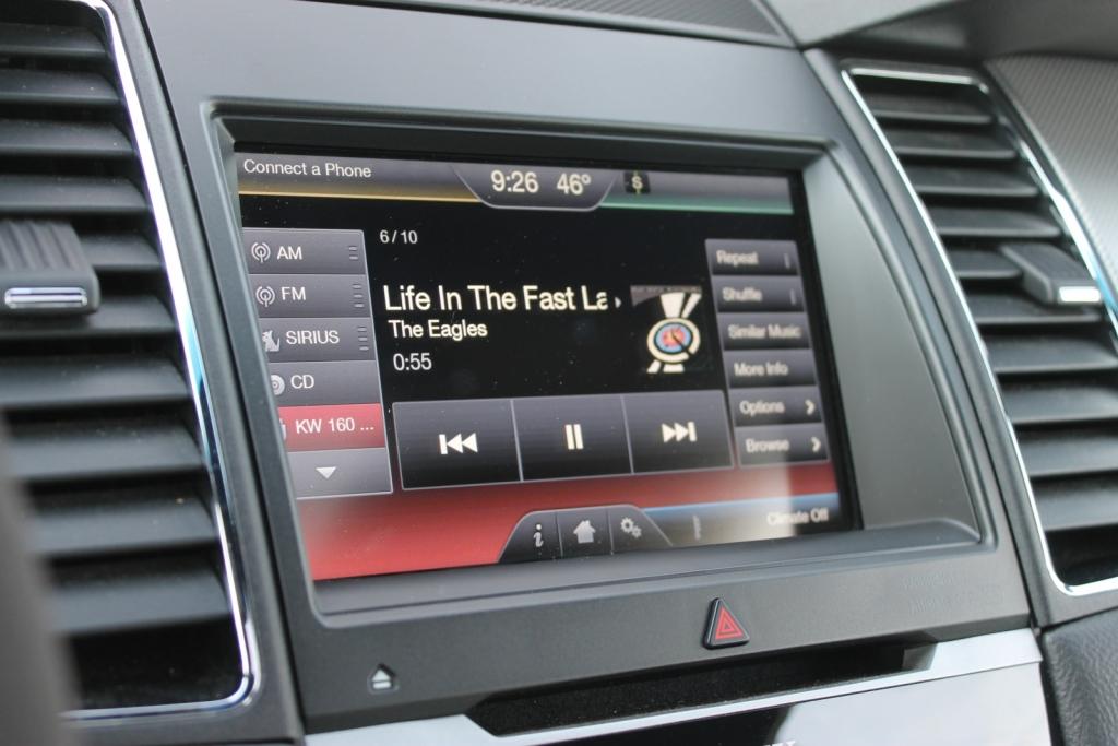 2013 Ford SHO Sony Sync