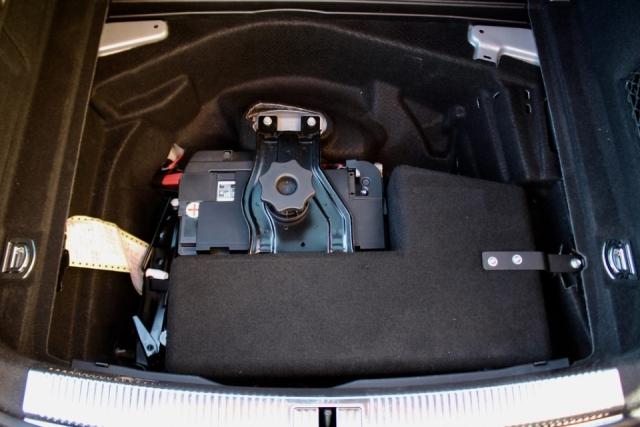 Audi RS7 subwoofer