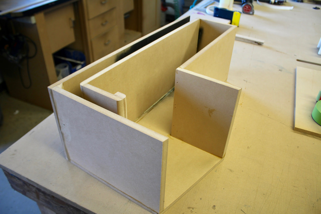 Vented subwoofer enclosure